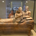 Sarcophagus of the spouses.
