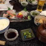 set sushi lunch selection