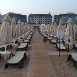 Beach to hotel