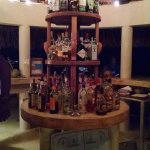 The bar after dark