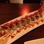 Sushi Zento Muswell Hill Japanese Restaurant. -  Tokyo Dragon Roll