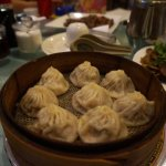 'Soup-filled' Dumplings. Difficult to pick up without piercing it and having all Broth escape.