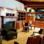 Cocktail lounge area