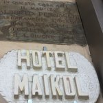 Maikol Luxury Guesthouse Entrance sign