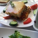 Perfect Vegetarian Moussaka for lunch