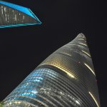 Shanghai Tower, Shanghai World Financial Center and Jin Mao Tower