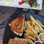 Turkey Reuben & Cheese plate