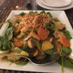 Mixed Vegetable Salad with Peanut Sauce