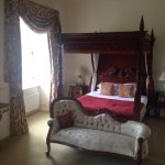 Room 207, with the four poster, very comfy bed!