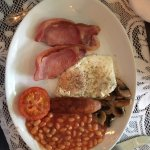 Cooked breakfast (I like lots of pepper!!)