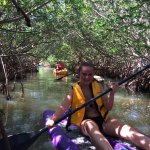 Our group of 5 had a blast on our leisurely kayak tour---we also did have + a stand up paddleboa