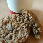 Tasty oatmeal cookie
