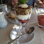 The healthy breakfast option - delicious yogurt parfait