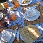 el desayuno genial!!!