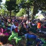 Big crowds gather for concerts