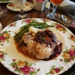 Pecan Crusted Chicken with Wild Berry Demi