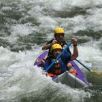"""More of our scouts on the rapid """"Big Daddy"""""""