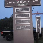 Arriving at the Gathering Together Farm