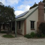 Lovely cottages - only winery cottage has log fire