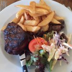 Fillet steak from the specials board.