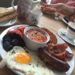 Amazing great quality English breakfast 😀🍴☕️