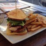 Club Steak Sandwich on Sourdough