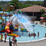 La nuova piscina con Playground waterbomb
