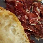 Dried ham from Jabuco Iberico