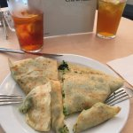 Excellent savory crepes and tea.  A nice little spot.  Recommend for a break from the summer cro
