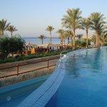 Dolní bazén u pláže