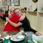 A hug from Seth!