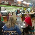 Kim, sharing the vision of FARM Cafe.