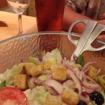 """""""world famous"""" salad - but not in the UK .... although it tastes good!"""