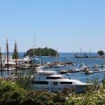 Camden Harbor.