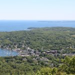Camden Harbor from Mount Battie.