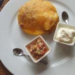 Arepa de Huevo con carne
