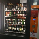 The world's best vending machine - 20 feet from hotel room and just at entrance to rooftop terra