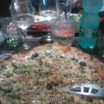pizza fruits de mer.
