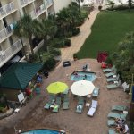 Best hotel on the beach. Pool side tiki bar!