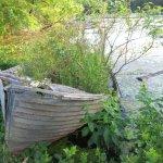 boat at Chubb Lake