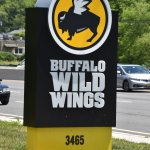 Buffalo Wild Wings :   Highway Sign