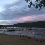 Experiencing the beauty of Lake George from the comfort of Shore Meadows! Magnificent!