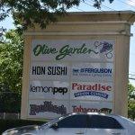 Olive Garden :  Highway  Sign