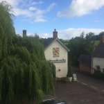View of the pub from room