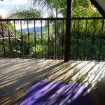Yoga time at Santuario Hibiscus