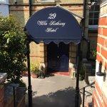 Entrance to Villa Rothsay