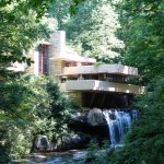 Fallingwater view from across the river