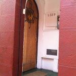 Front door of Tralkan B&B