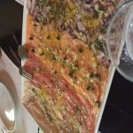 Mixed Carpaccio Excellent! It's not included in he Menu but totally worth it to ask!