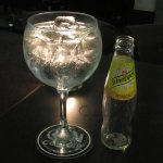 Large gin and tonic!